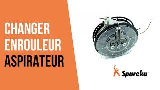 Comment réparer votre aspirateur - Remplacer l'Enrouleur ?