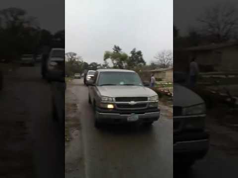 Tornado San Antonio TX Feb 20, 2017