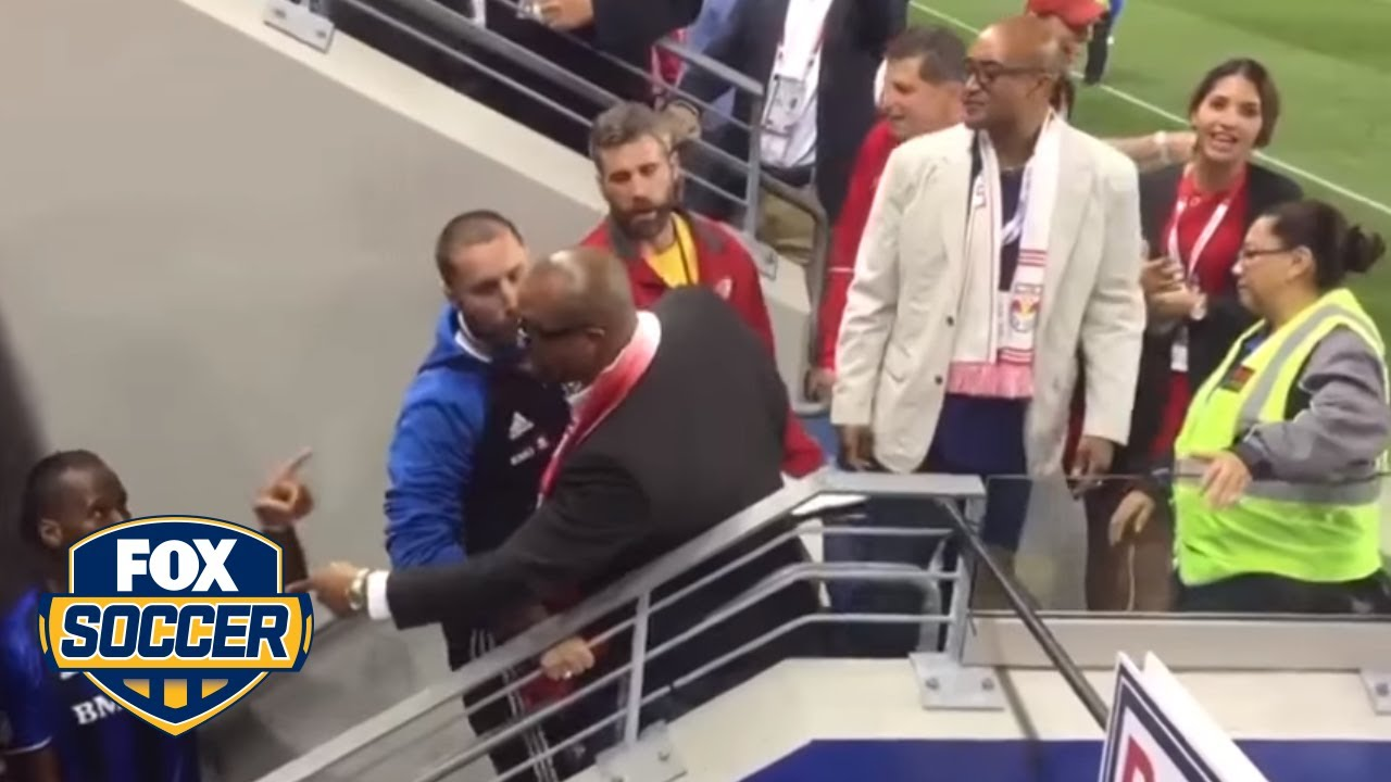 Download Didier Drogba confronts heckling fans   FOX SOCCER