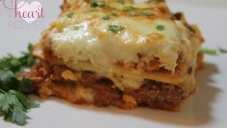 Lasagna Recipe - How To Make The Best Lasagna - I Heart Recipes
