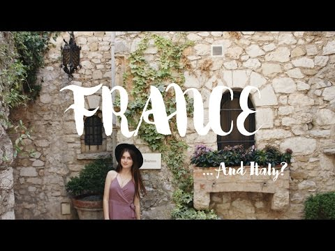 Villefranche, Antibes, Eze || France vlog Three