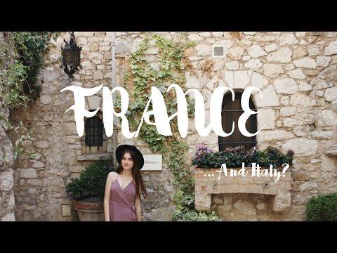 Villefranche, Antibes, Eze || France vlog Three