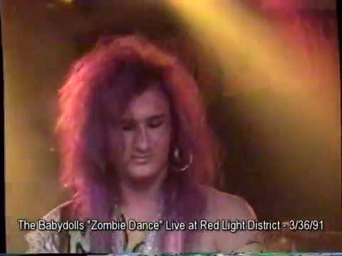 """The Babydolls """"Zombie Dance"""" Live @Redlight District, Hollywood CA, 3/26/91"""