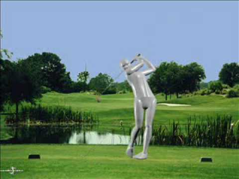 ModelPro Interactive perfect golf swing screen saver from ModelGolf