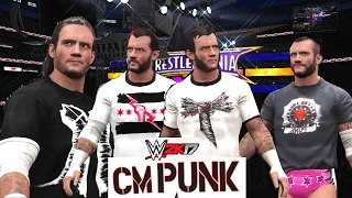 WWE2K17 Community Showcase : CM Punk (PS4) Entrance,Signatures & Finishers