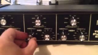 Moog 3 Band Parametric EQ