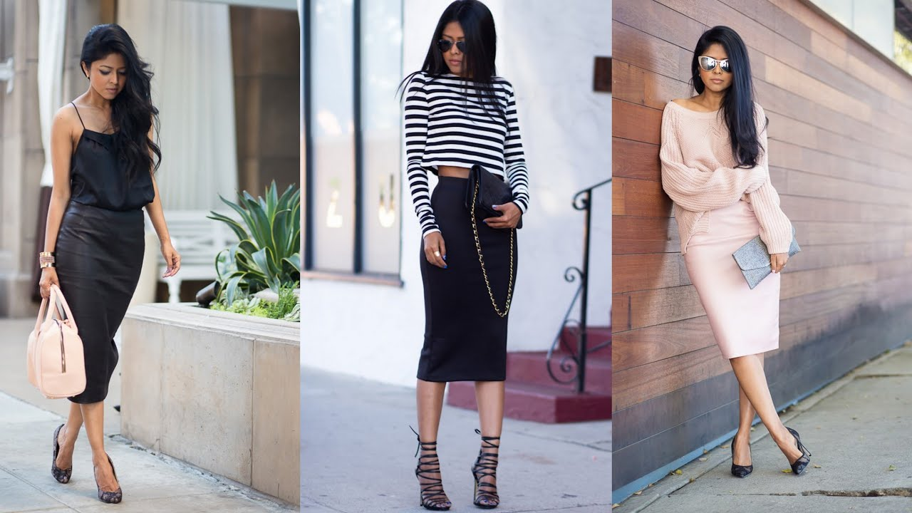 Pencil Skirt for Every Occasion - Classic and Casual Outfit Ideas ...