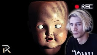 xQc Reacts to 15 Terrifying Internet Videos Found Deep In The Web - That Can't Be Explained