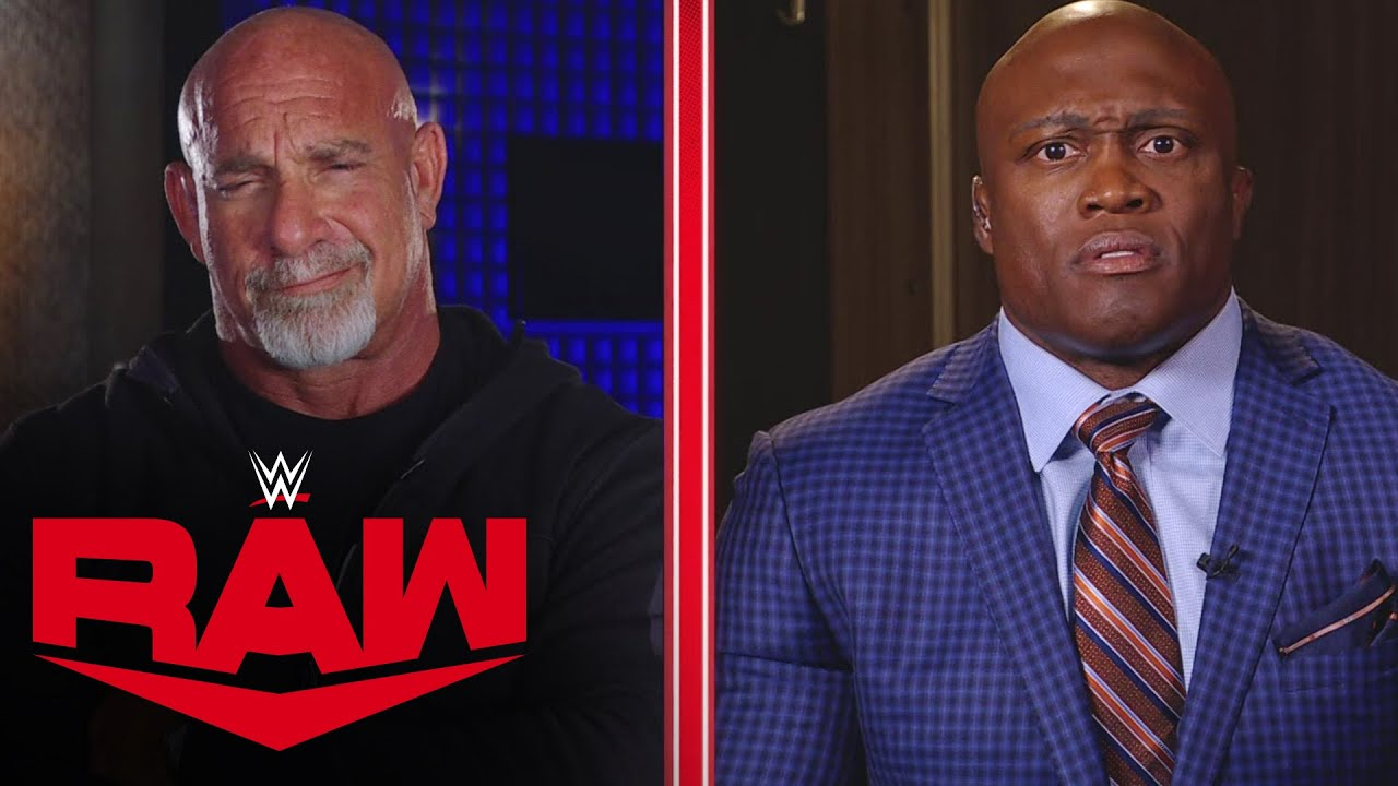 Download Goldberg and Bobby Lashley exchange heated words in No Holds Barred interview: Raw, Oct. 18, 2021