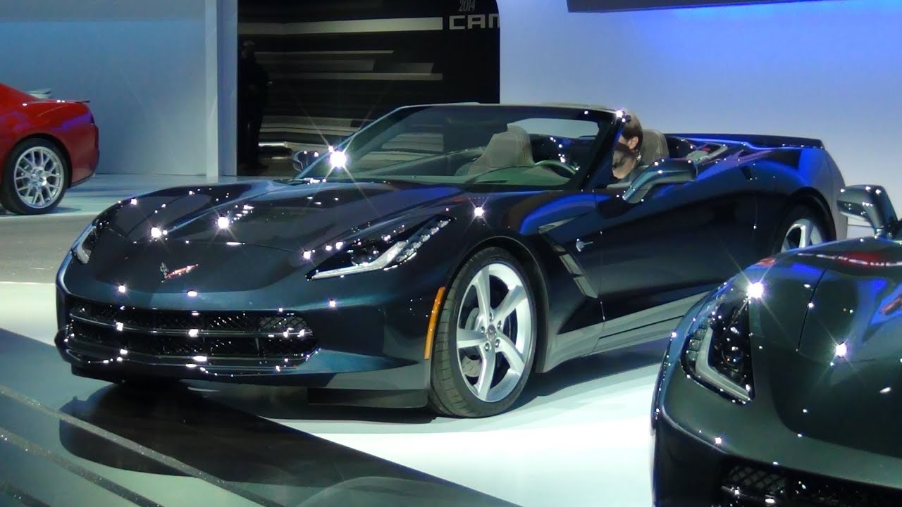 All New 2014 Corvette Stingray Convertible 2013 New York