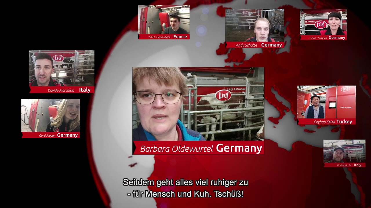 Lely Astronaut A5 – Ein Jahr Erfahrungen – video 4 (DE)