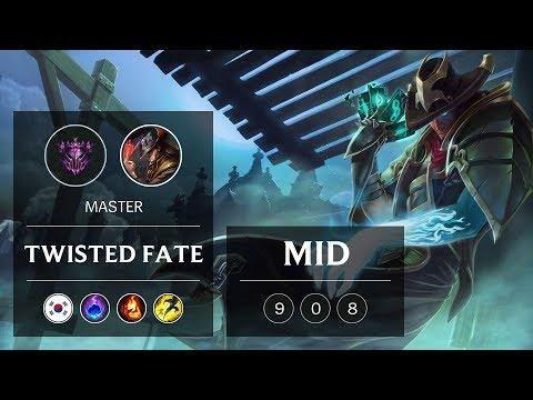 Twisted Fate Mid vs Irelia - KR Master Patch 9.2