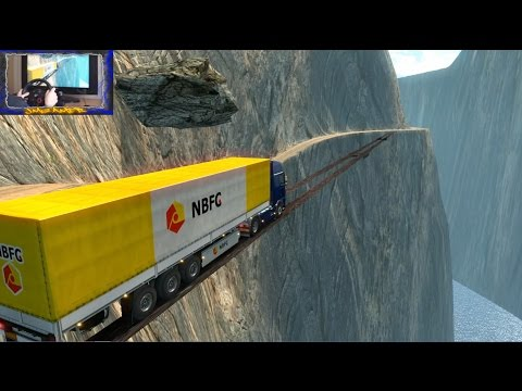 ETS2 2.0 #58 |Carreteras Infernales #16 | Mapa South Korea Adventure Puentes Mortales | JMGamer
