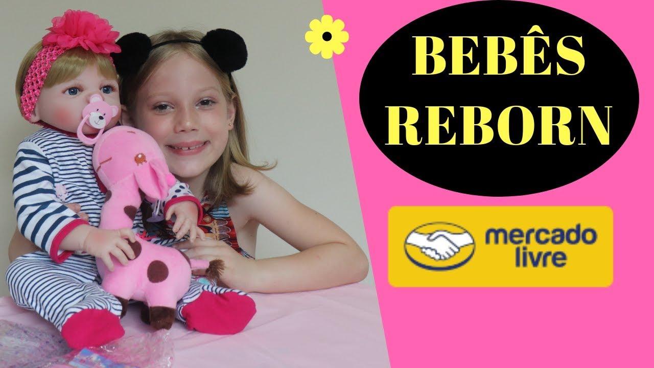 Detalhes Bebe Reborn Loira Do Mercado Livre Youtube