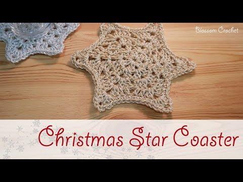 Christmas Series: Crochet Star Coaster