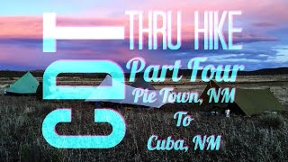 Cdt Thru Hike 4: Pie Town, Nm To Cuba, Nm