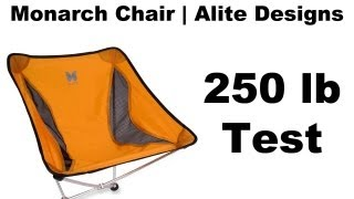Alite Monarch Butterfly Camp Chair - 250lb Test