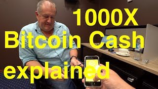 BCH Bitcoin Cash 1000X explained in June 2019