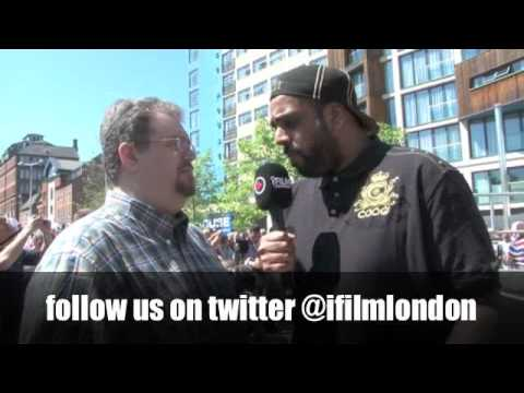 'THIS IS MY FIRST TIME IN ENGLAND' - DAN RAFAEL INTERVIEW FOR iFILM LONDON.