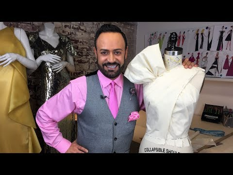 Draping a Couture Bow Top