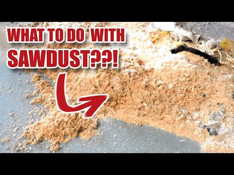 10 Uses for Workshop Sawdust! Gosforth Handyman [17]