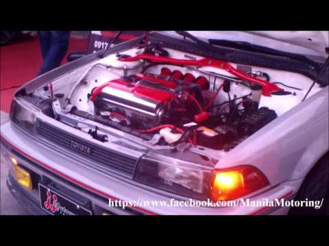 Toyota Corolla AE92 Modification: 4AGE Silvertop 20valves engine swap!
