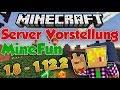 MineFun - Minecraft Server Vorstellung [1.8 - 1.12.2] | Freebuild, Creative und mehr! | JamateyLP