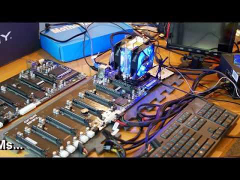 ONDA B250-D8P-D3 Mining Motherboard In Depth Look And RAM Tests