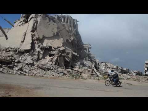 Driving to Aleppo via Homs