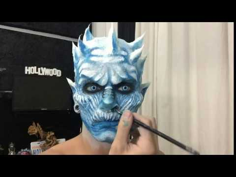 Game Of Thrones MAKEUP Ice King Victor Nogueira YouTube