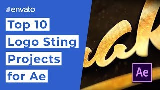 10 Top-Logo Sting Projekte für After Effects [2019]