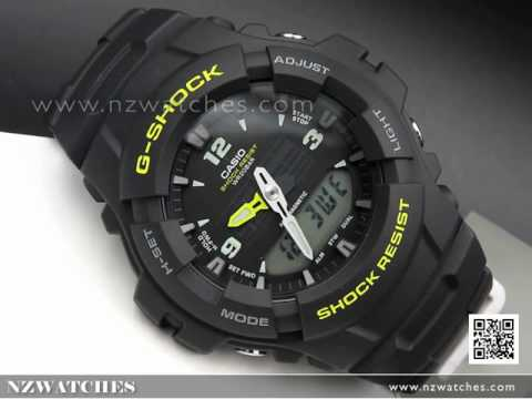Casio G-Shock 200M Analog-Digital Sport Watch G-100-9CM, G100