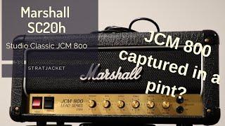 Marshall SC20h Studio Classic JCM 800