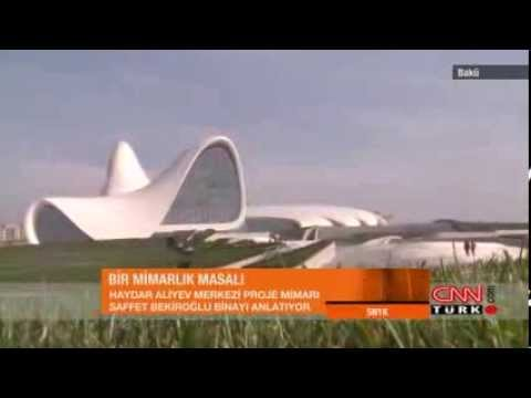 Bir Mimarlık Masalı - Haydar Aliyev Kültür Merkezi - Zaha Hadid Architecture