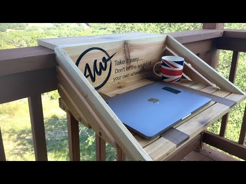 Build A Hook On Balcony Desk