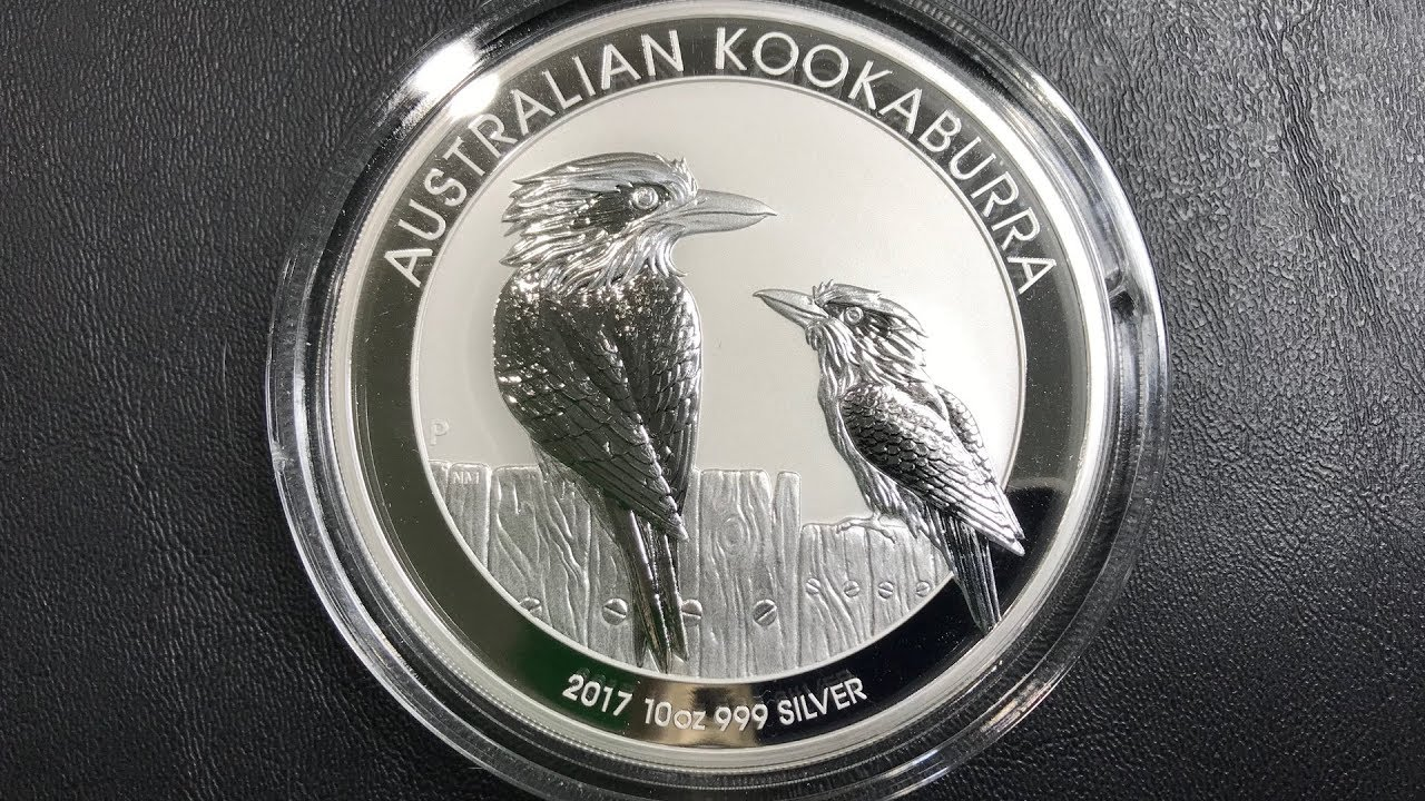 Commemorative 2017 Australian Kookaburra One Ounce .999 Silver Coin