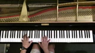 """Jazz Piano improvisation on the tune """"Come Rain or Come Shine"""""""