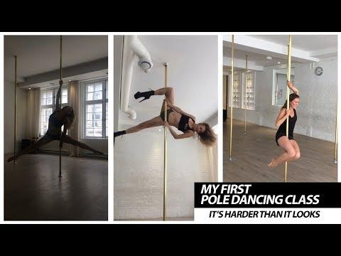 My First Pole Dancing Class