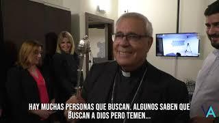 Virgen de las Angustias TV. Bendición y palabras de bienvenida de Mons. Javier Martínez