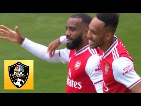 Alexandre Lacazette puts Arsenal in front v. Burnley   Premier League   NBC Sports
