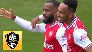 Alexandre Lacazette puts Arsenal in front v. Burnley | Premier League | NBC Sports