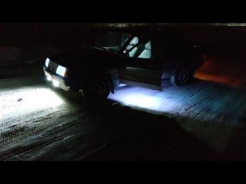 Подсветка дверей в машину, ваз 21099
