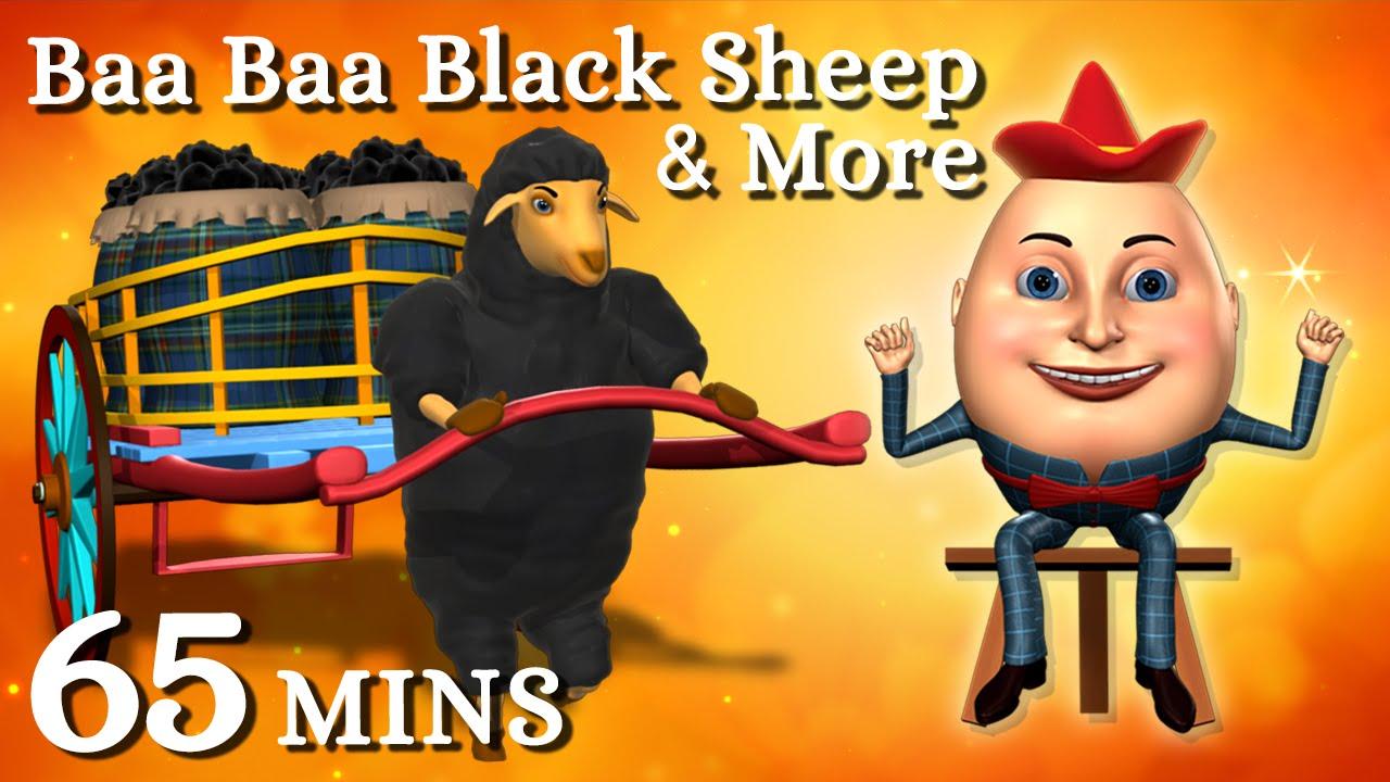 Baa baa black sheep Have you any wool - Nursery Rhymes Lyrics & Video