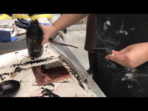 Sugar Lift and Aquatint Process- Marilee Salvator