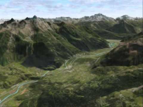 3D Geo-Visualisation
