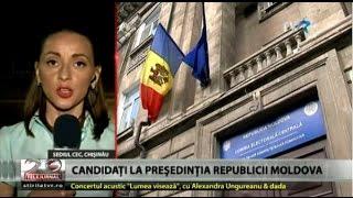 Primele candidaturi la preşedinţia Republicii Moldova