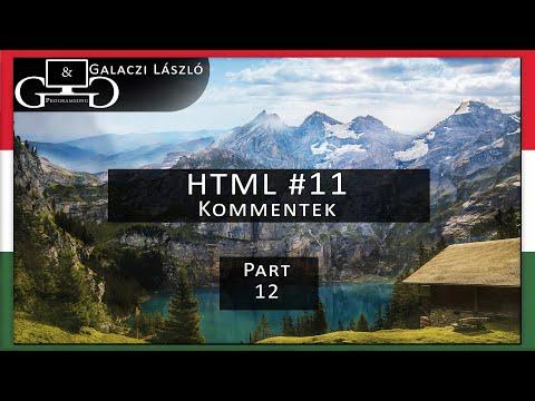 HTML #11 Kommentek [G&G Programming] [HUN] Web Development Course