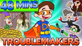 Cool School Troublemakers & Tricksters - Compilation | Bats, Big Bad Wolf, Ray Blank, & More!