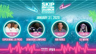 Super Bowl LIV picks, DeMarcus Lawrence, Rob Riggle, Lil Wayne (1.31.20)   UNDISPUTED Audio Podcast