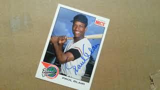 PAUL BLAIR (MLB Baseball Player Hall Of Famer) - Autograph Collection